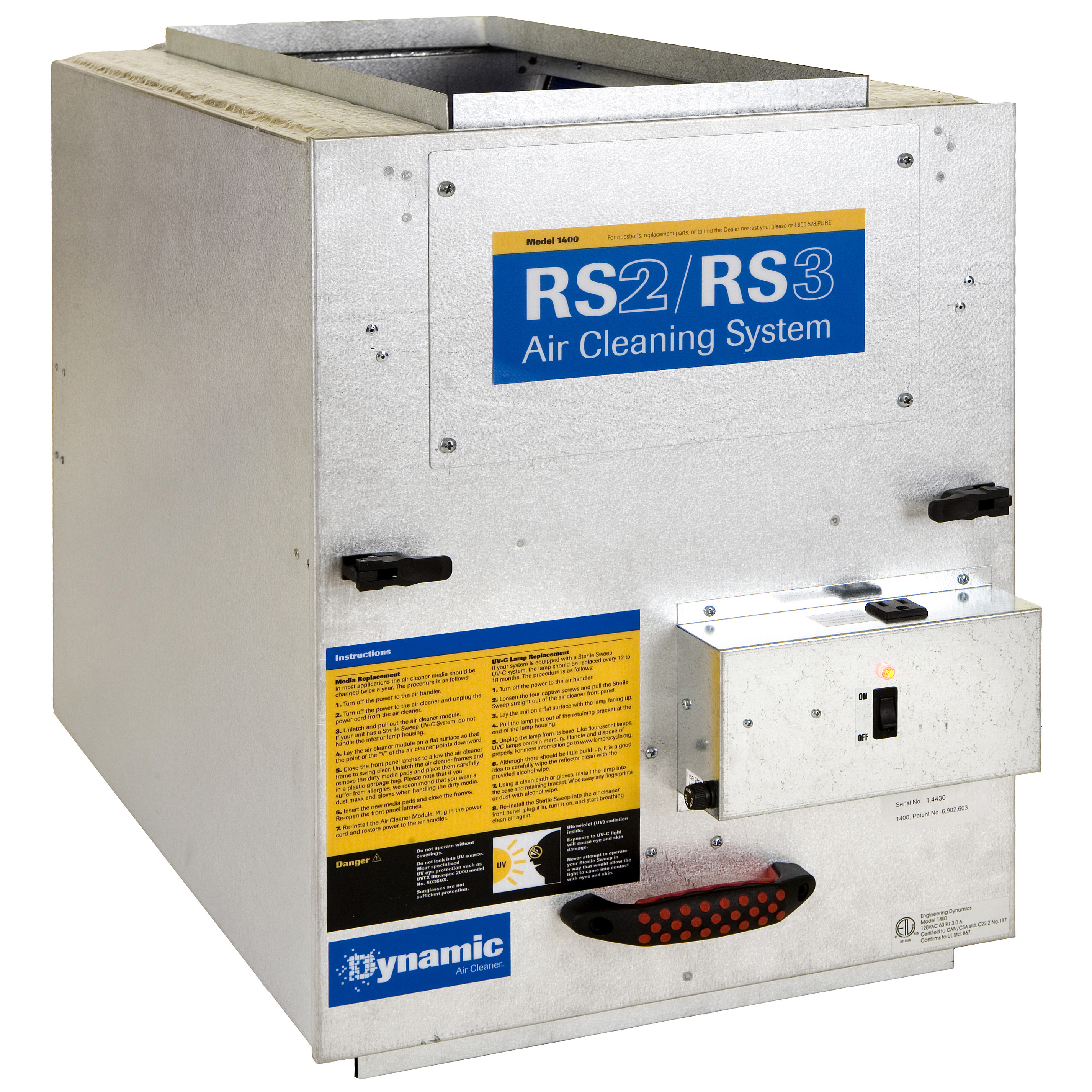 Dynamic RS2-2400 Air Purification System