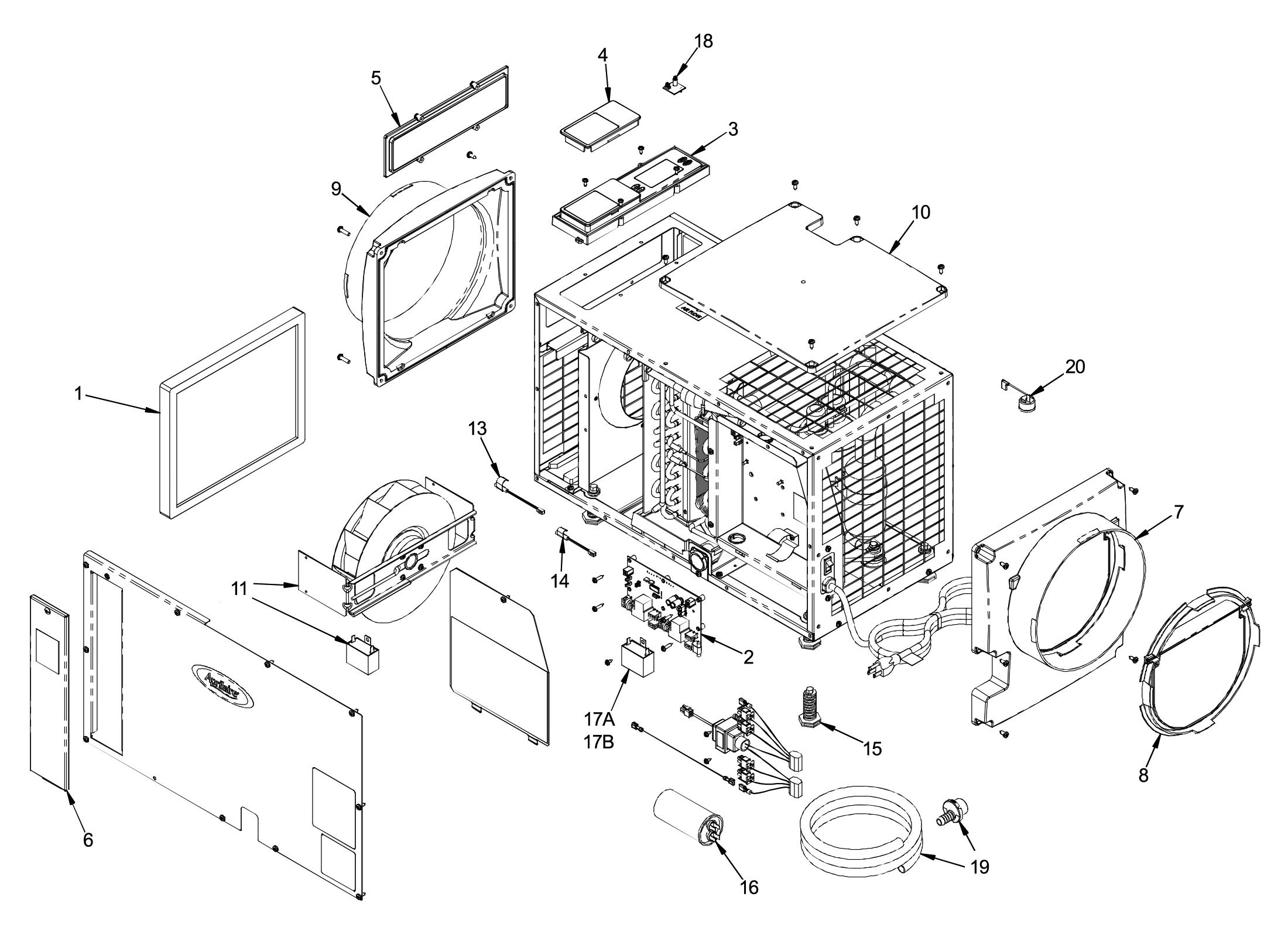 Aprilaire 1830 Dehumidifier