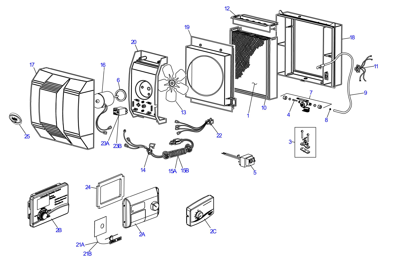 Aprilaire 110 Wiring Diagram