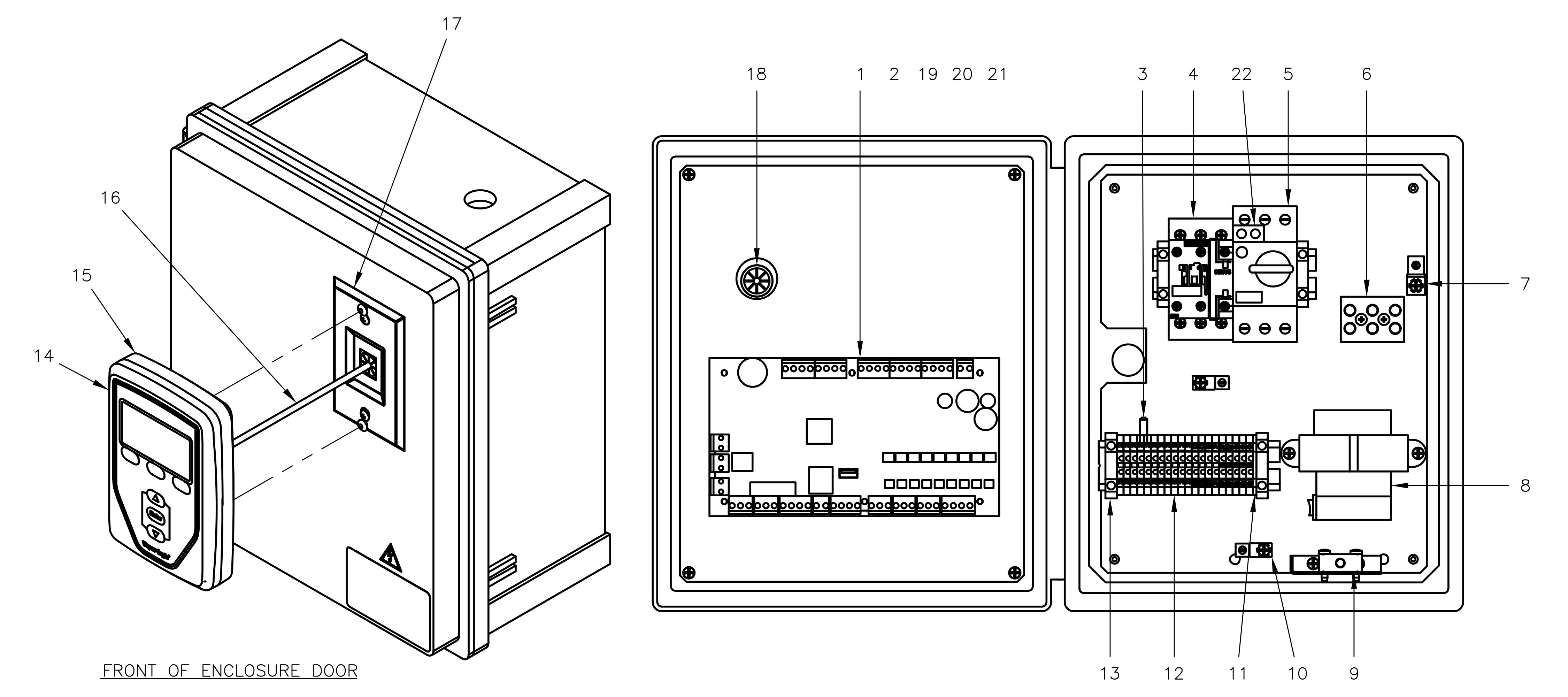 Control Cabinet Parts