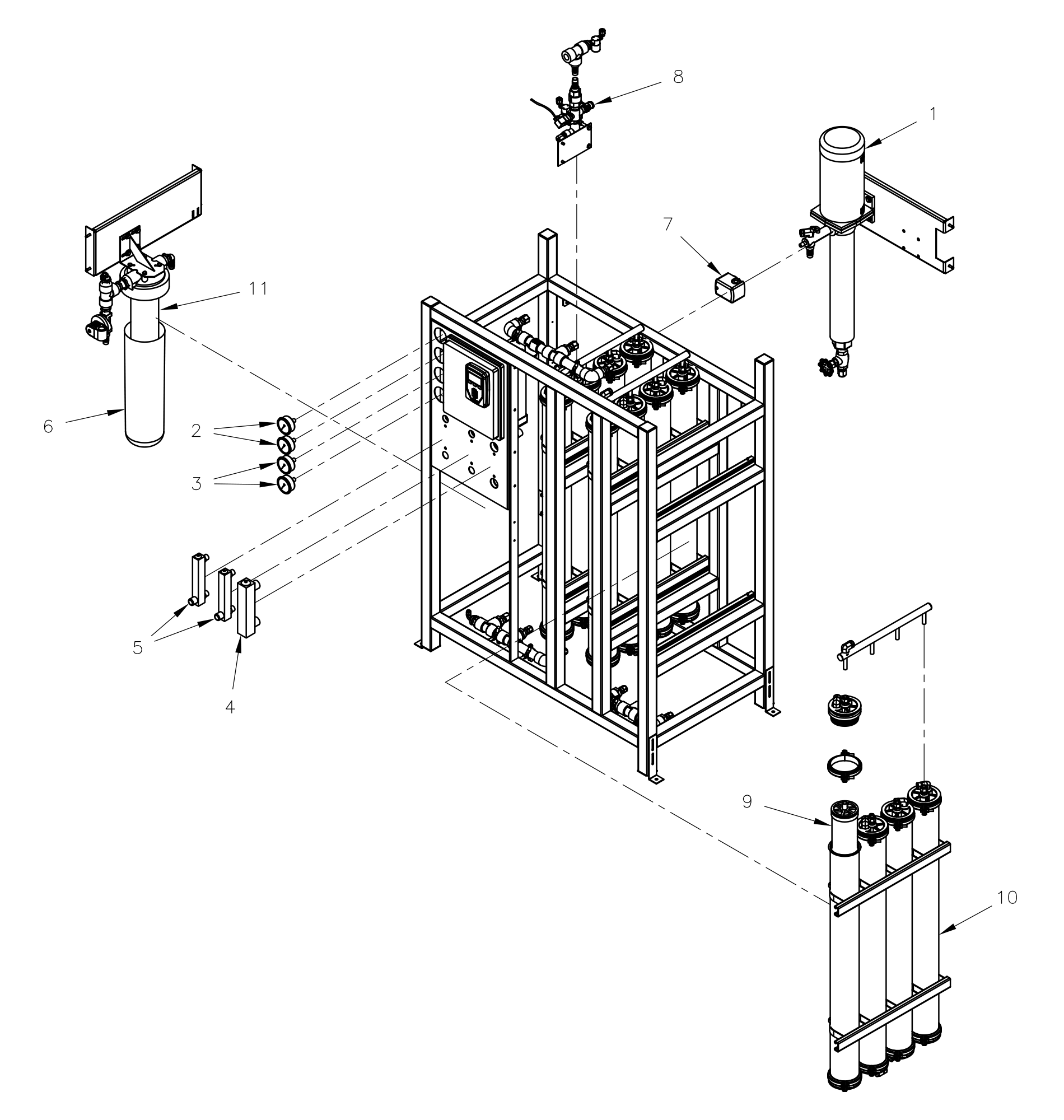 RO System Parts