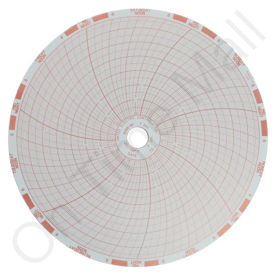 United Electric Controls 6282181 Circular Charts