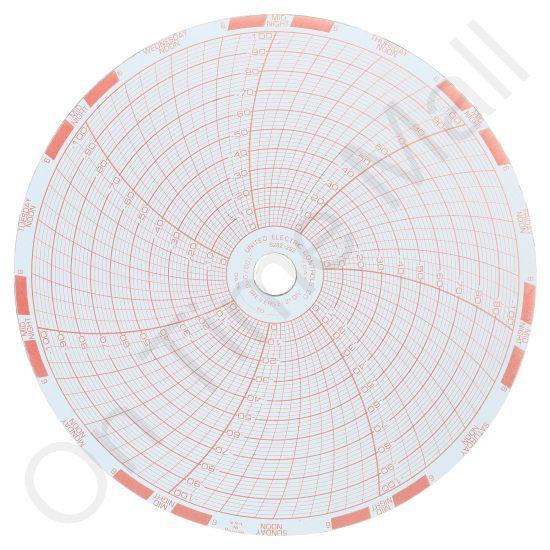 United Electric Controls 6282292 Circular Charts